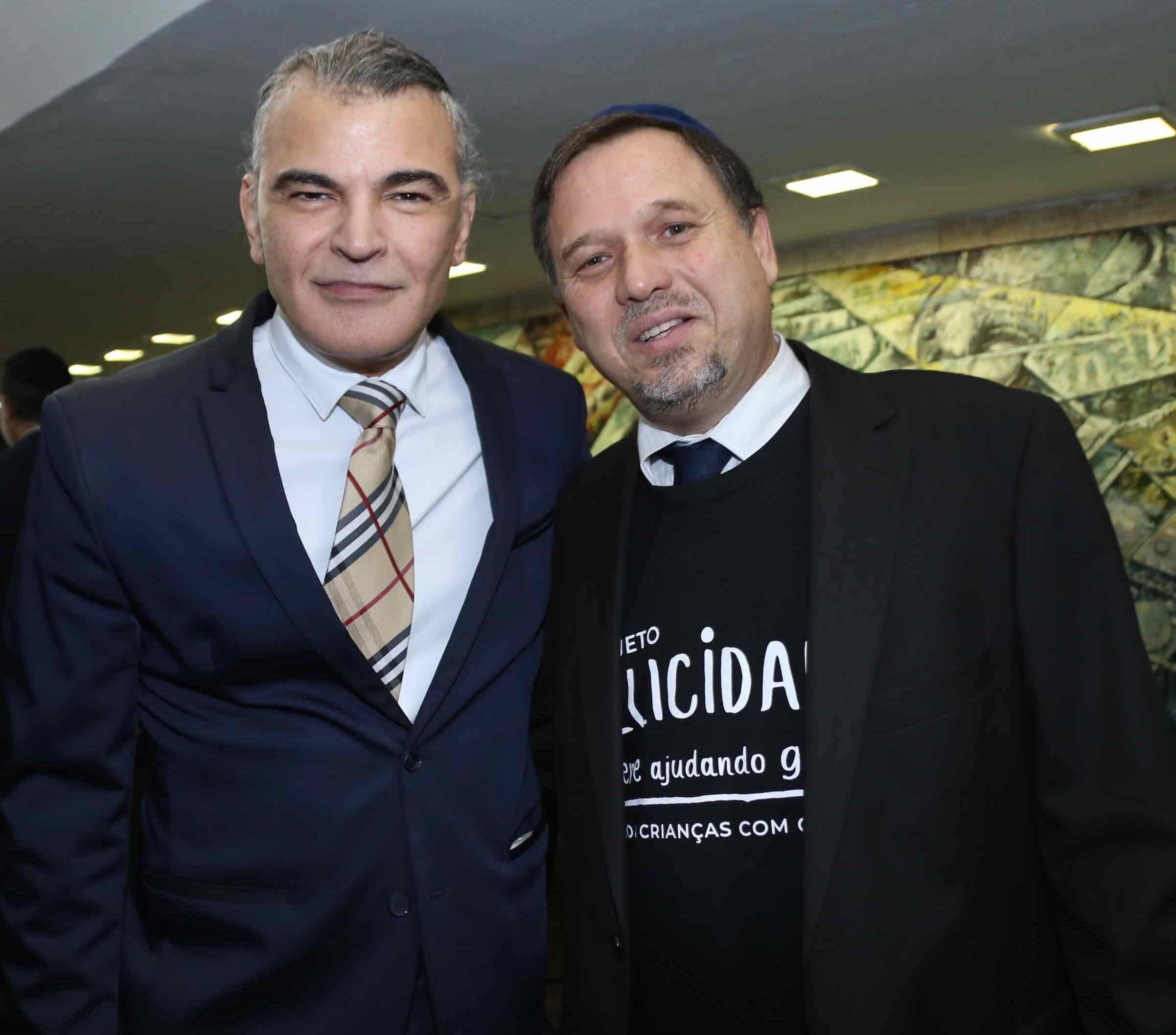 Joca Guanaes e Sergio Altit  /Foto: Denise Andrade