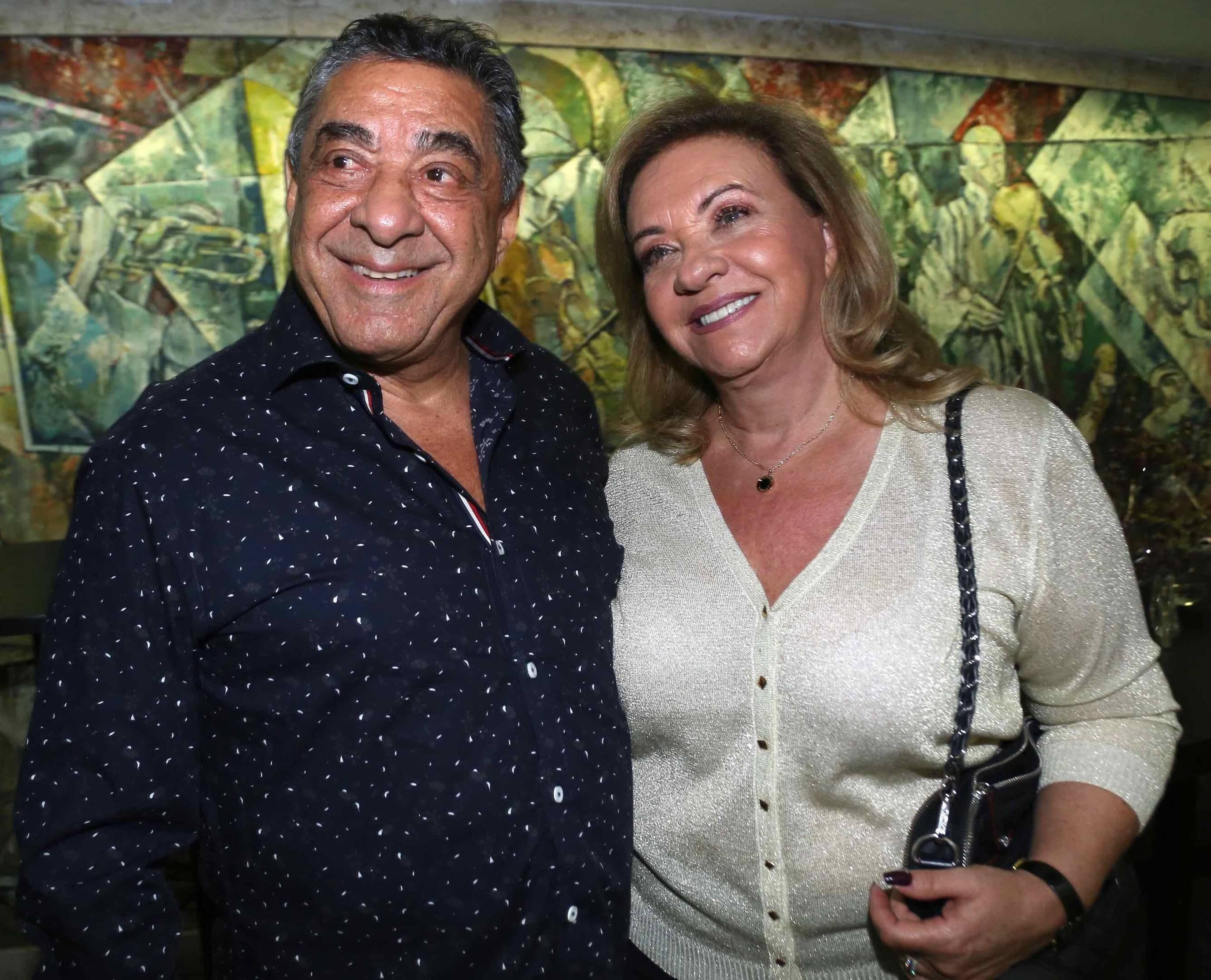 Mayer e Denise Mizrahi /Foto: Denise Andrade