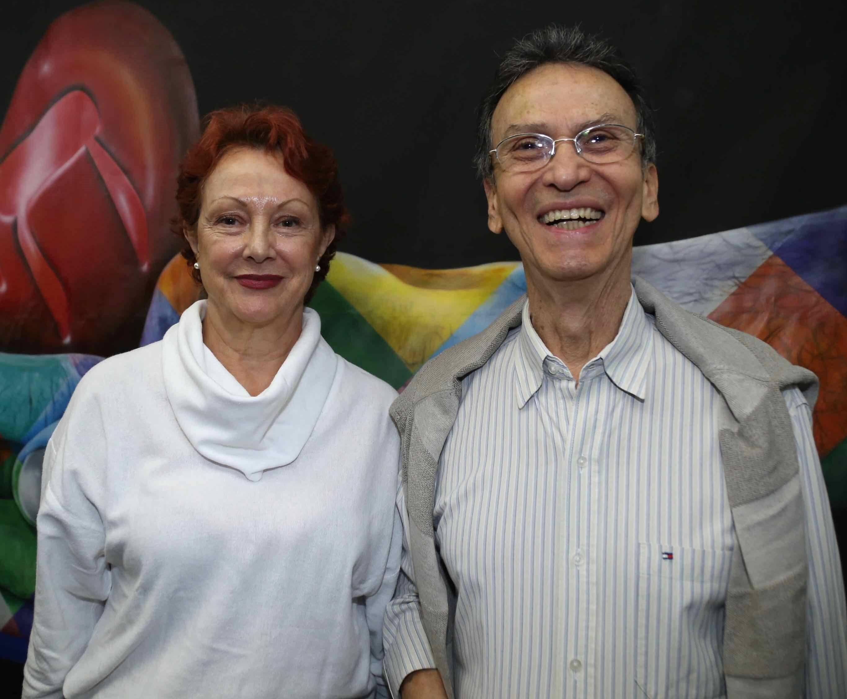 Nilsen Wolff e Leilson Dias /Foto: Denise Andrade