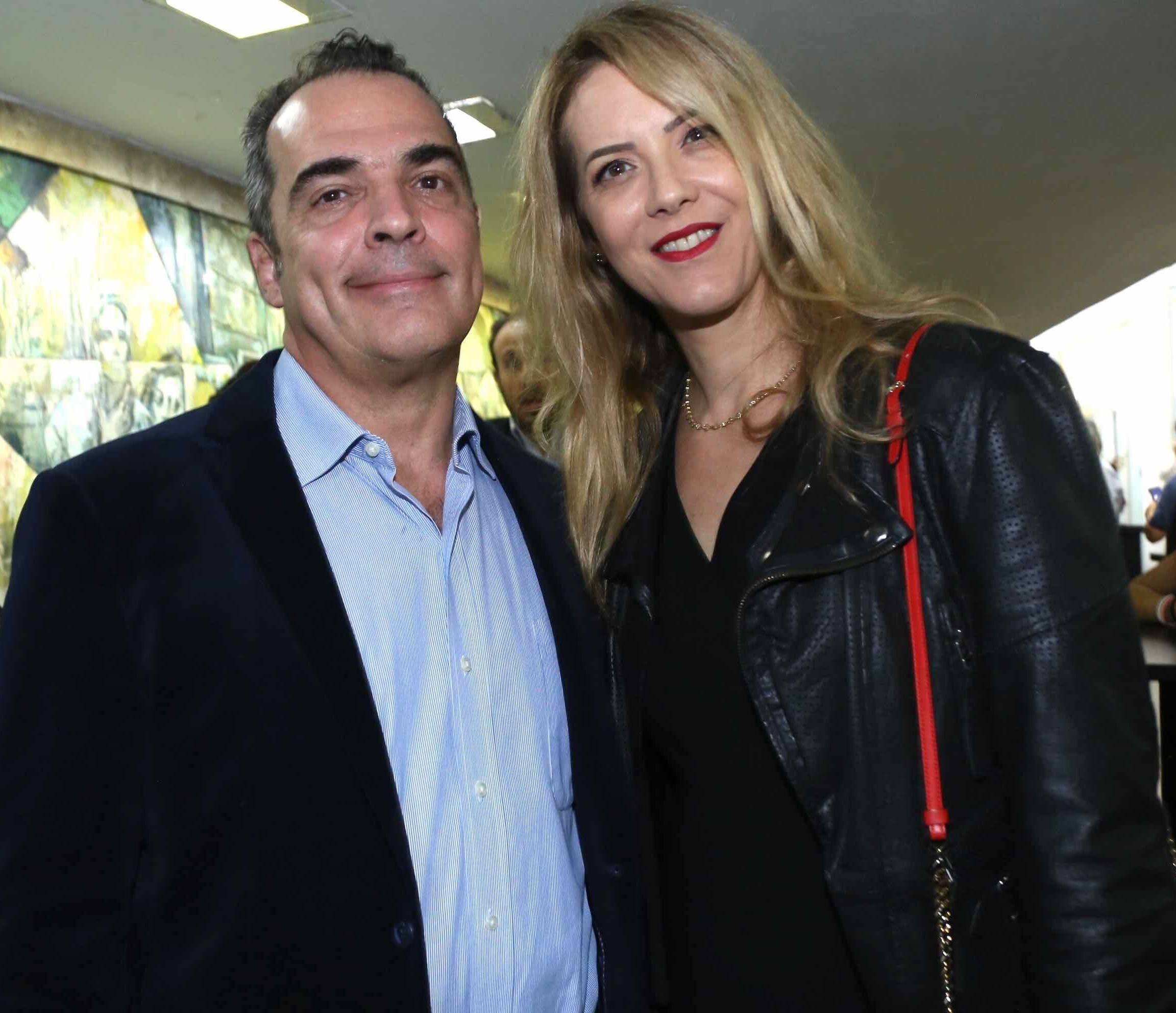 Ricardo e Lia von Brusky /Foto: Denise Andrade