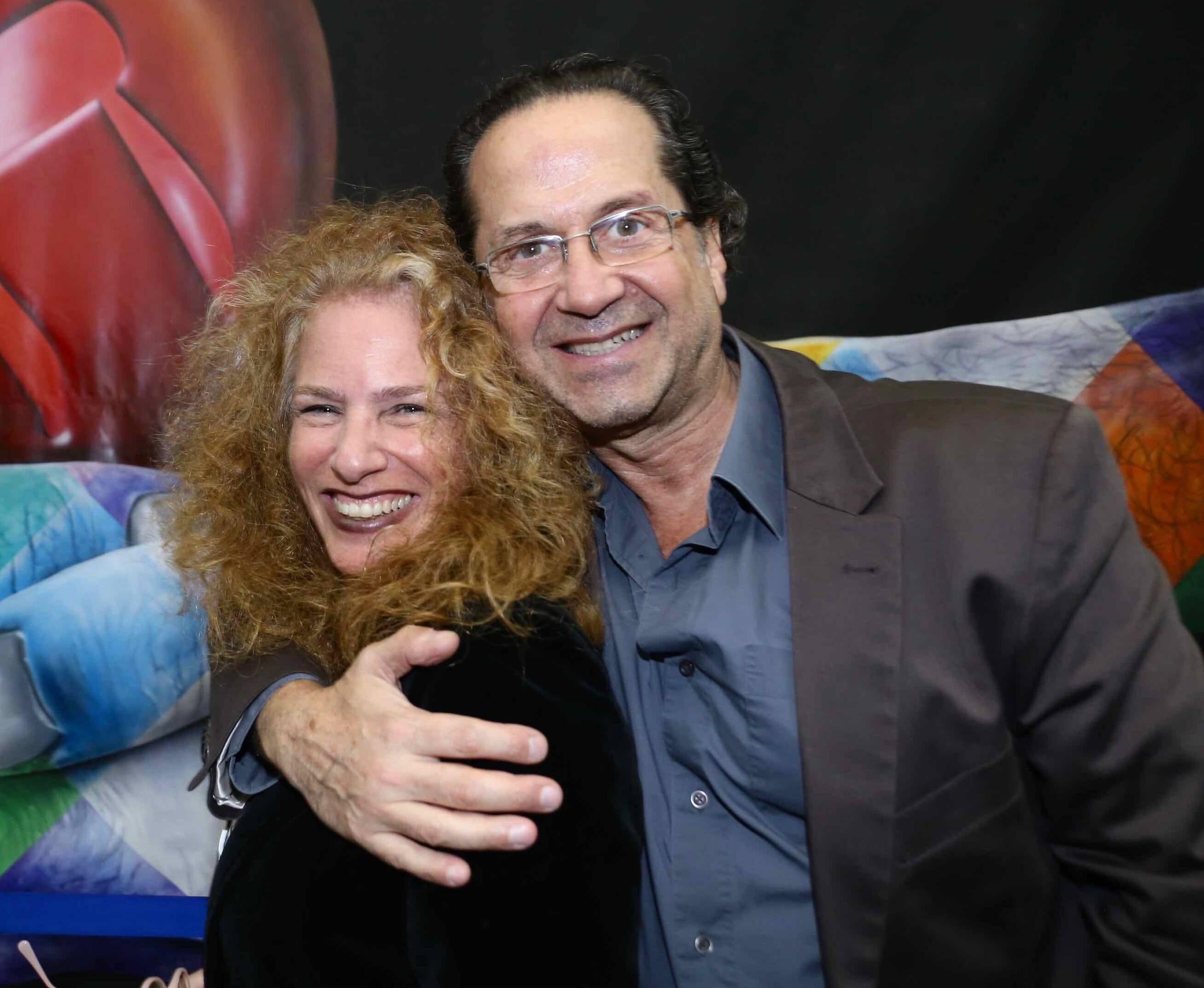 Carolina Birenbaum  e Olivio Guedes /Foto: Denise Andrade