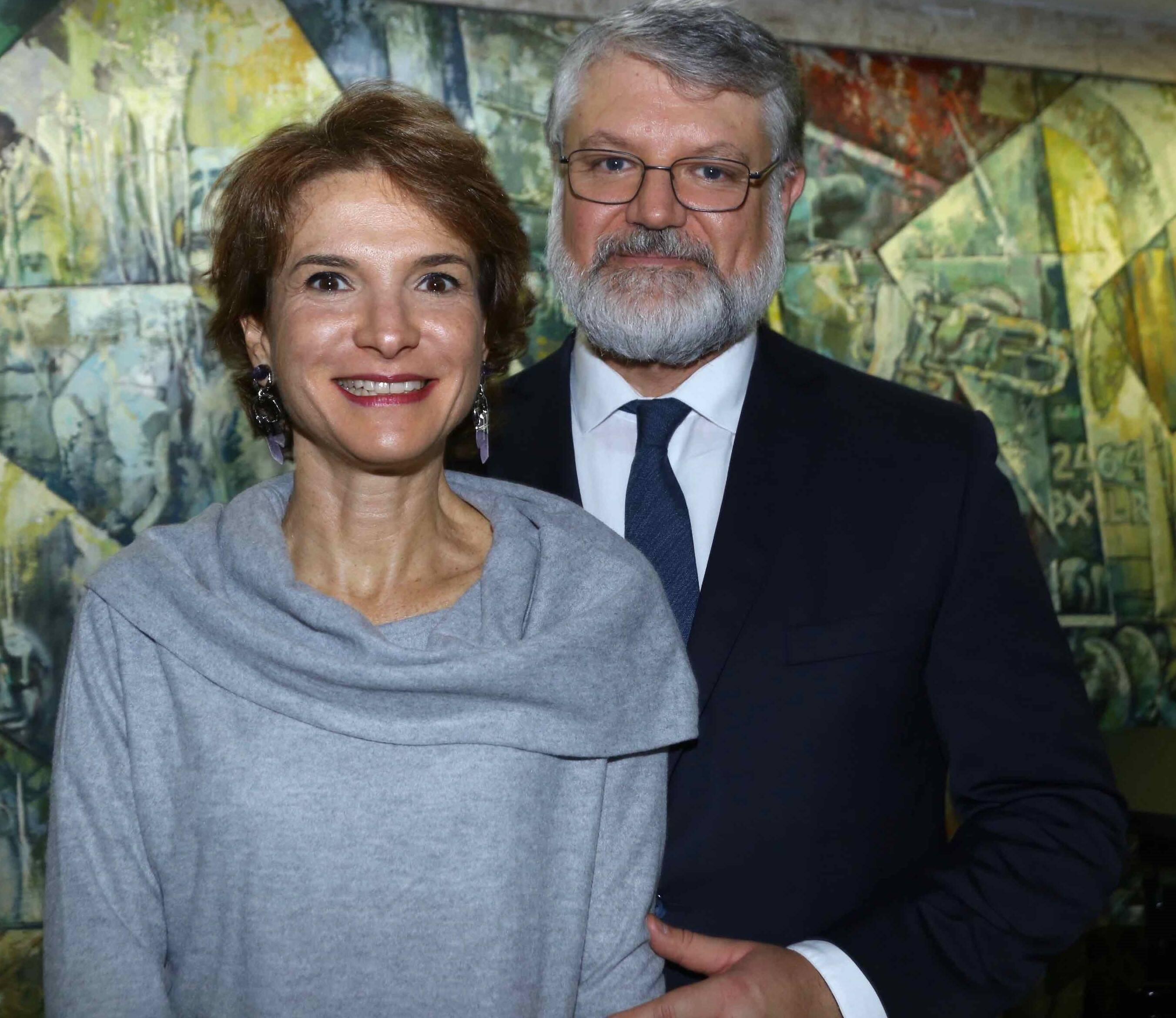 Sheila e Pedro Mastrobuono  /Foto: Denise Andrade