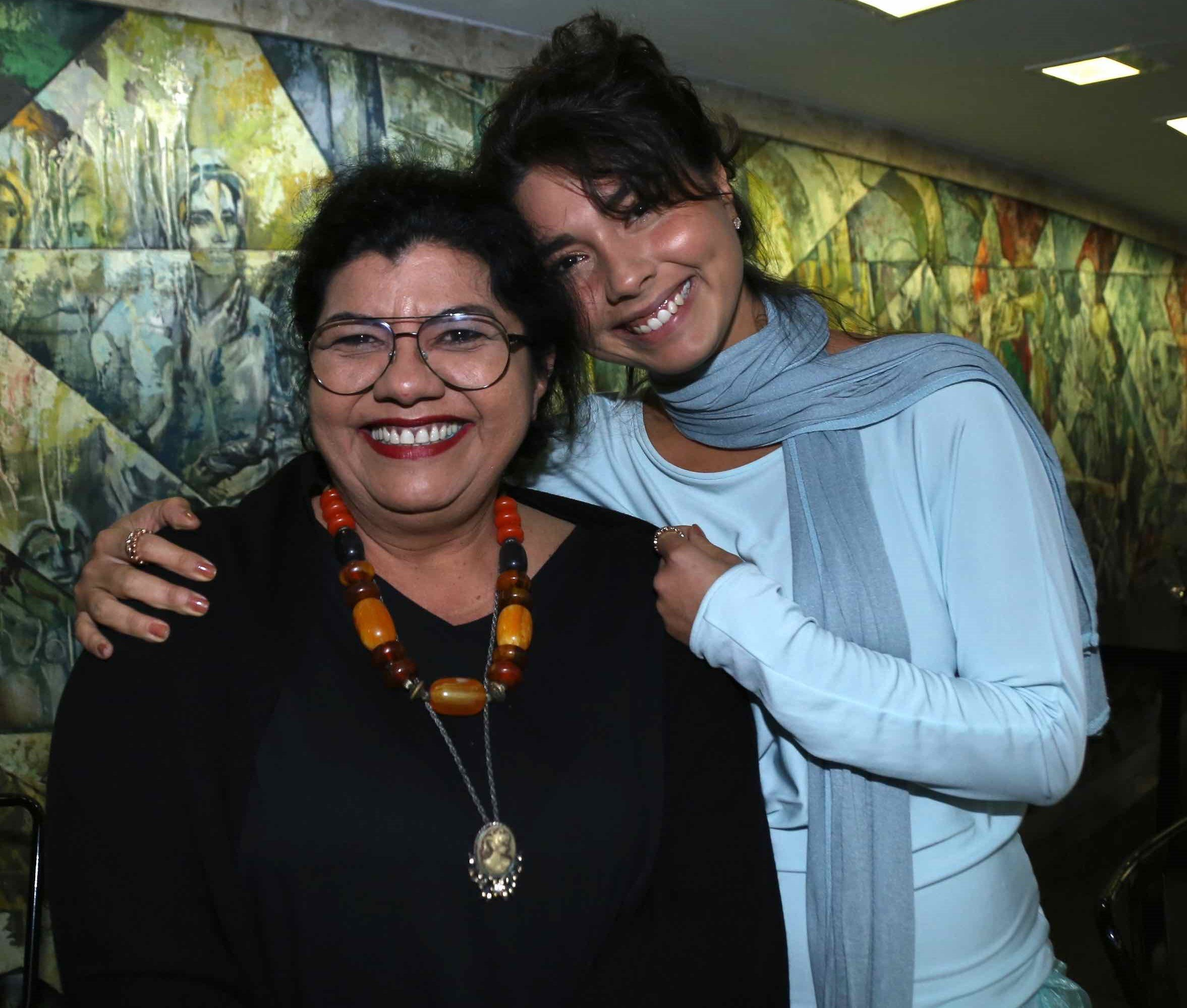 Claudia e Maria Colares  /Foto: Denise Andrade