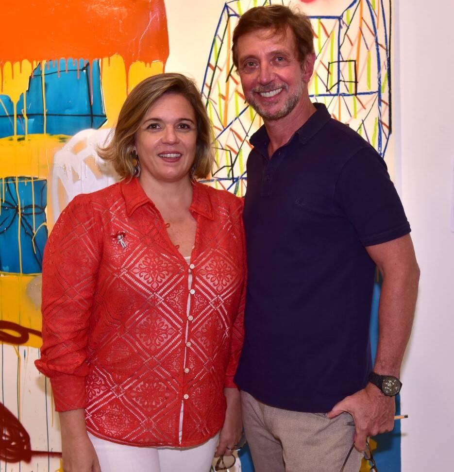 Luciana Caravello e Nando Grabowsky /Foto: Paulo Jabur
