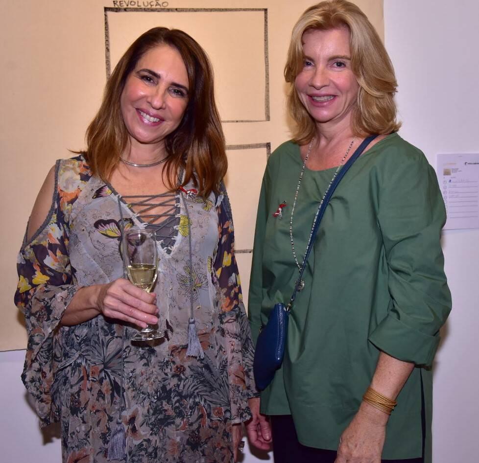 Liliane Queyroi e Ankie van Brussel /Foto: Paulo Jabur