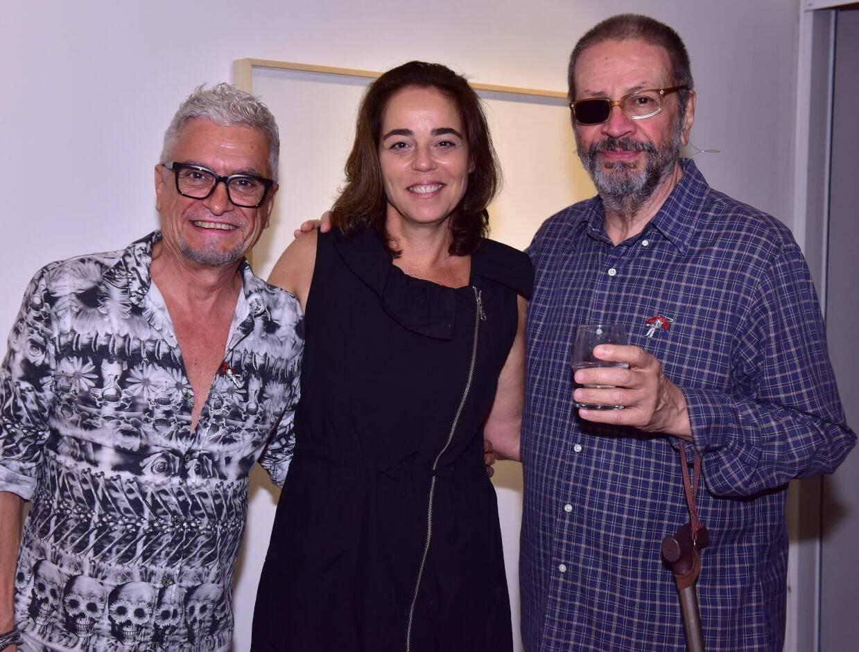 Cláudio Montagna, Úrsula Tautz e Victor Arruda /Foto: Paulo Jabur