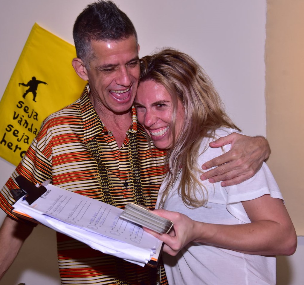 Cabelo e Adriana Braga /Foto: Paulo Jabur
