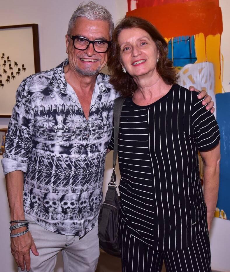 Cláudio Montagna e Cristina Moreira /Foto: Paulo Jabur