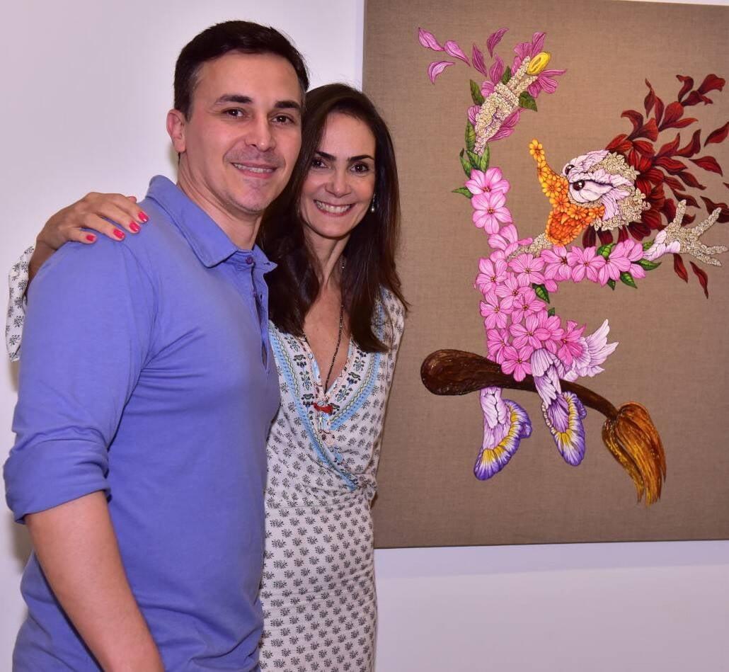 Sérgio Allevato e Carol Olinto /Foto: Paulo Jabur