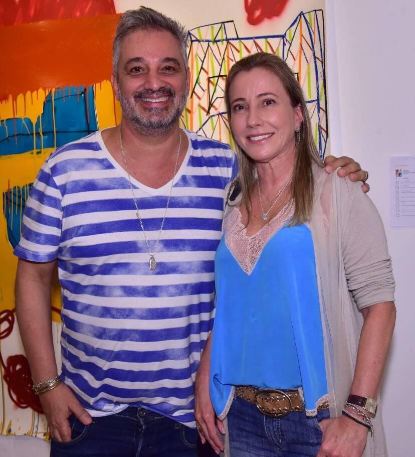 Ronaldo Simões e Cláudia Cantagalli /Foto: Paulo Jabur