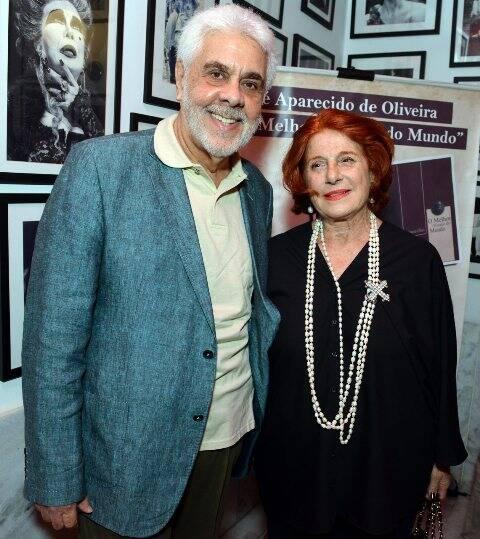 O casal Solange e Luiz Henrique Pereira da Fonseca