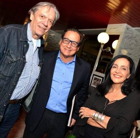 Chico Caruso, Nestor Rocha e Liliana Rodriguez