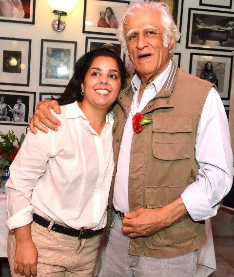 Maria Cecília de Oliveira e Ziraldo