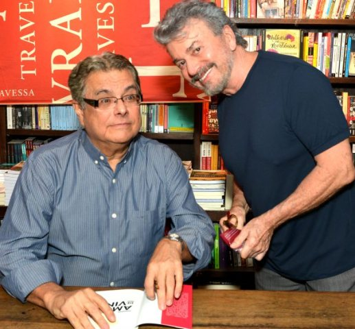 Flavio Marinho e Edney Silvestre
