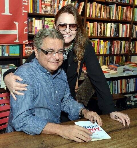 Flavio Marinho e Sonia Clara