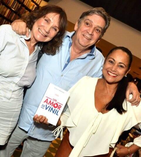 Sylvia Massari, Guto Graça Mello e Sheila Matos