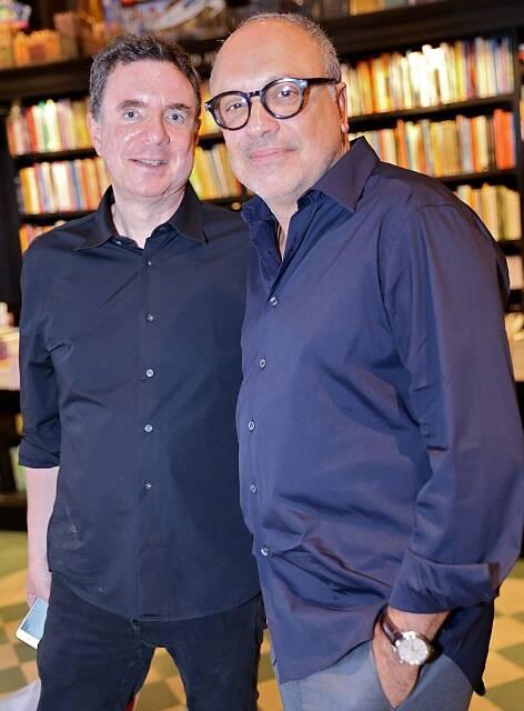 Arthur Casas e Roberto Stern