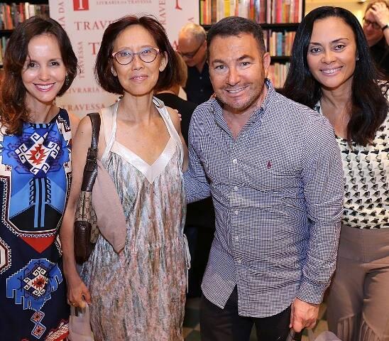 Cristiana Lobo, Chean Yok, Vitor Paladino e Valéria Guimarães