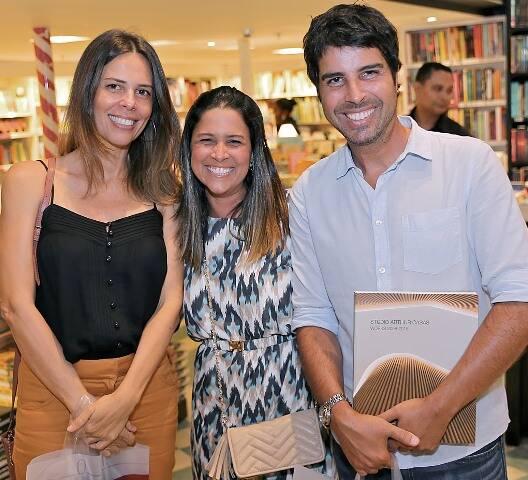 Vanessa Bueno, Catarina Guedes e Alex Lerner