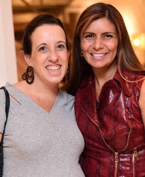 Ani Cuenca e Luiza Freire