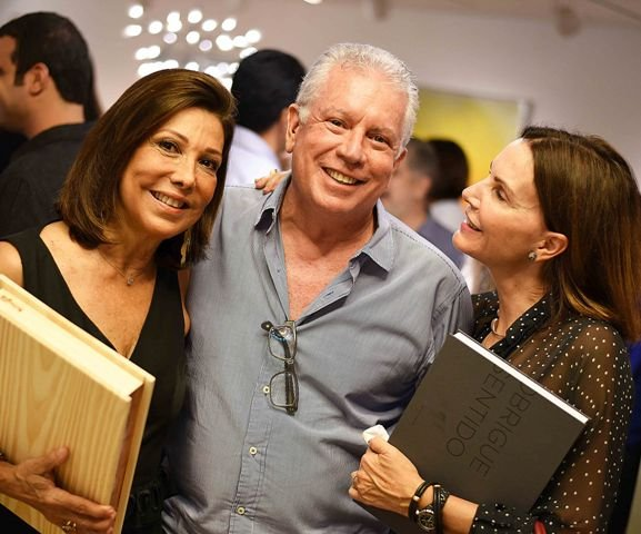 Ana Luiza Rothier, Chicô Gouvea e Patricia Mayer