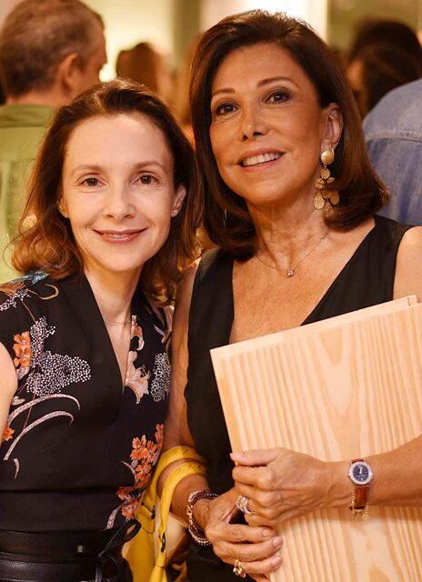 Cris Dornelles e Anna Luiza Rothier