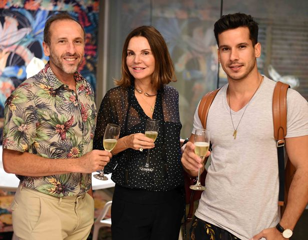 Denilson Machado, Patricia Mayer e Carlos Carvalho
