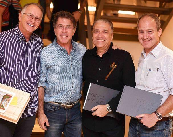 Denis Boggiss, Jairo de Sender, Luiz Marinho e Paulo Magalhães