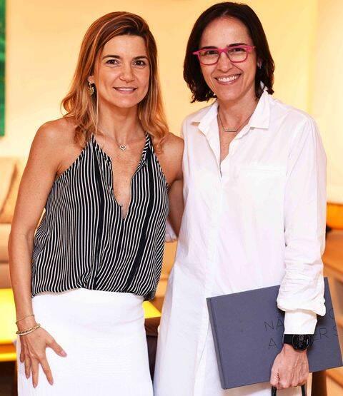 Flavia Marcolini e Gisele Taranto