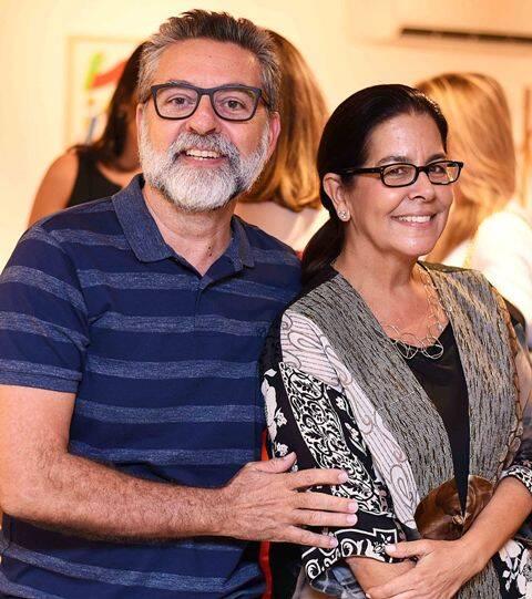 Ivan Rezende e Lia Siqueira