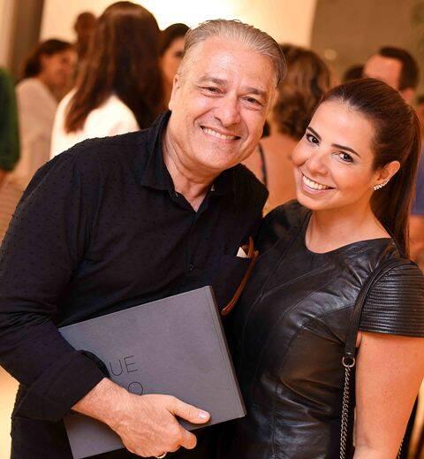 Luiz Marinho e Bruna Sideris