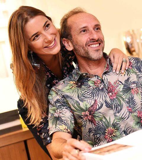Marcella Bacellar e Denilson Machado