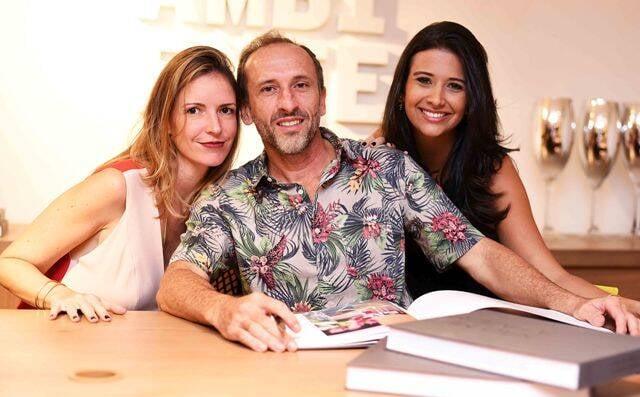 Mayene Precioso, Denilsion Machado e Yasmim Monnerat