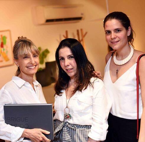 Patrícia Marinho, Paola Ribeiro e Paloma Danemberg