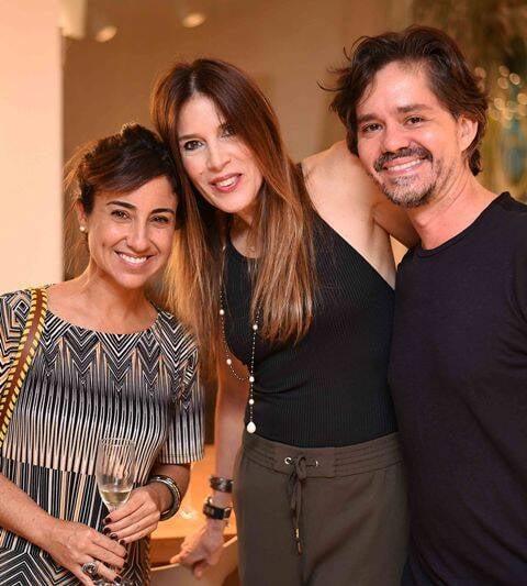 Roberta Terreri, Claudia Souza Santos e Ricardo Melo