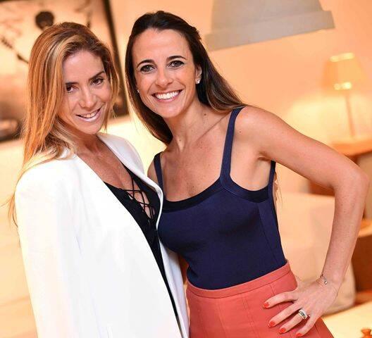 Tatiana Mendes e Mariana Halpern