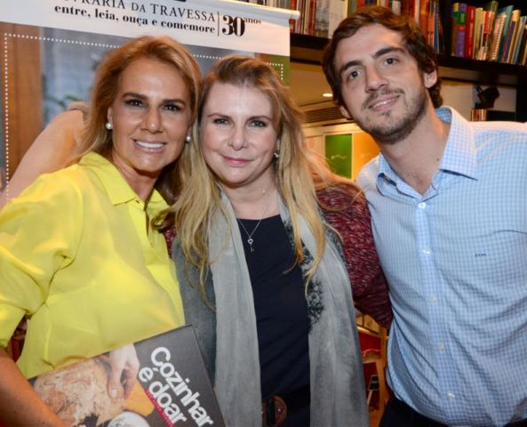 Elisa Marcolini, Andreya Navarro e João Vitor Botelho
