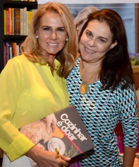 Elisa Marcolini e Madalena Mendes de Almeida
