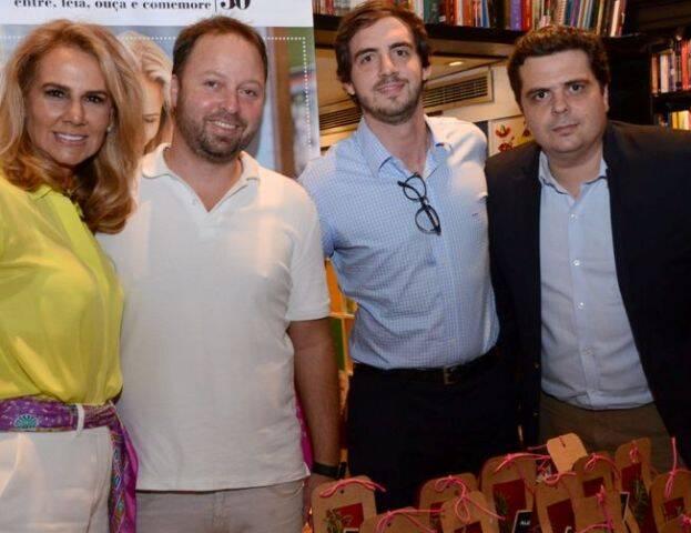 Elisa Marcolini, Felipe Cordeiro Guerra, João Vitor Botelho e Breno Cavalcanti