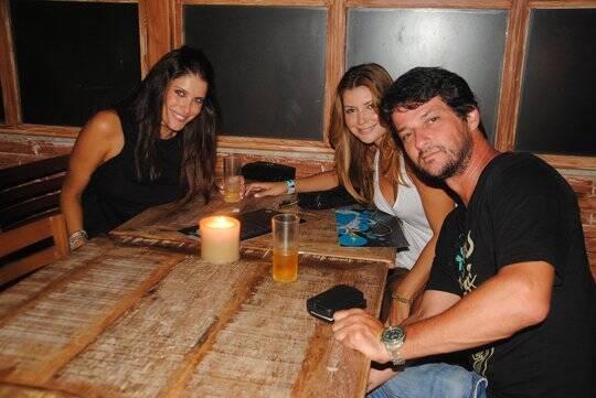Ana Luisa Castro, Ellyn de Paula e Marcelo Serrado