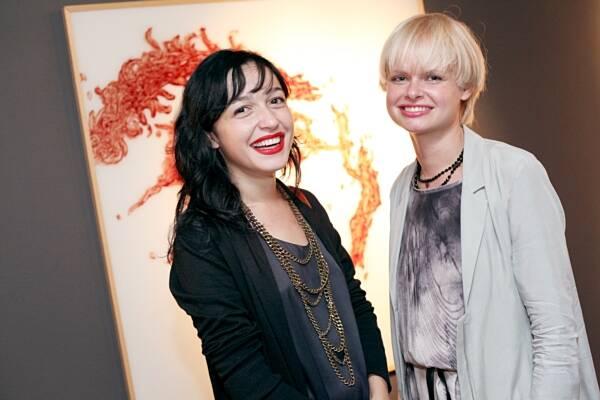 Daniela Cury e Lina Lunden