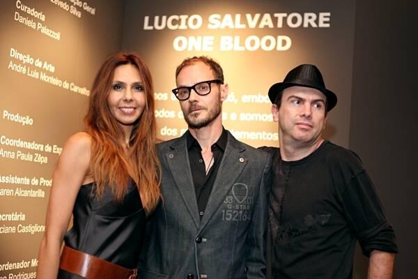 Renata Guarita, André Elas e André Claret
