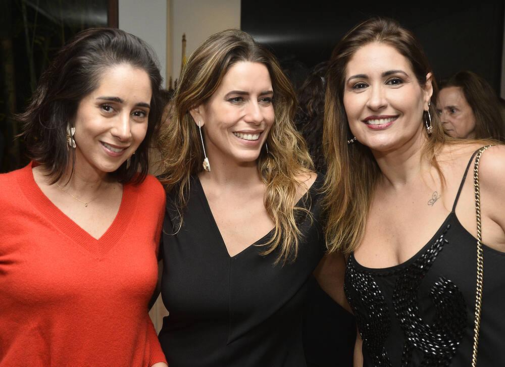 Antonia Leite Barbosa, Luiza Bomeny e Luna Rodrigues /Foto: Divulgação