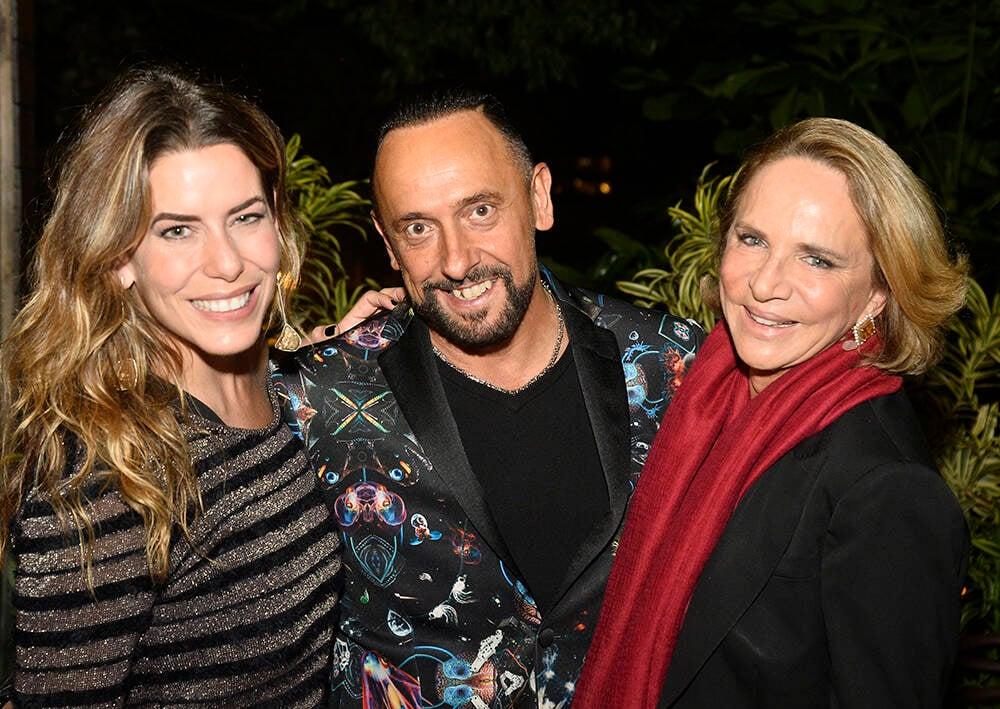 Luiza Bomeny, Roberto Riccio e Lenny Niemeyer /Foto: Divulgação