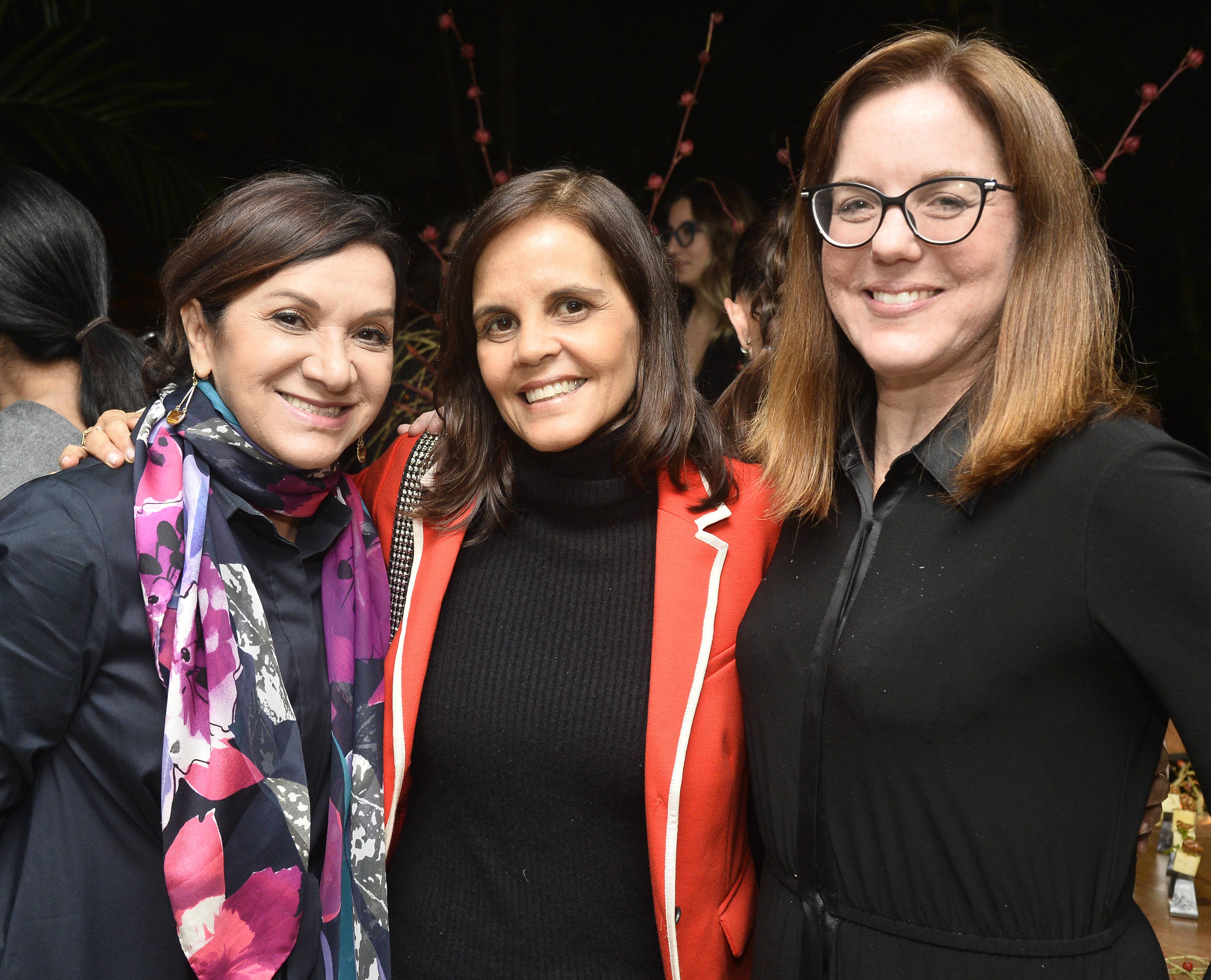 Sueli Bombieri, Angela Falcão e Marcia Disitzer /Foto: Divulgação