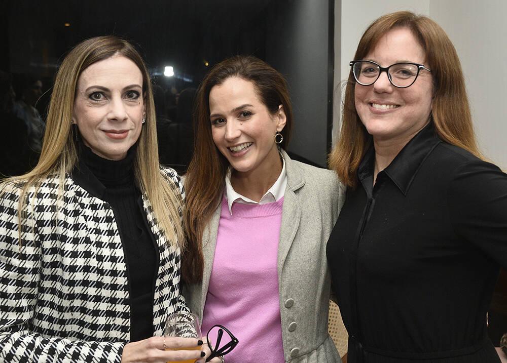 Paula Acioly, Joana Nolasco e Marcia Disitzer /Foto: Divulgação