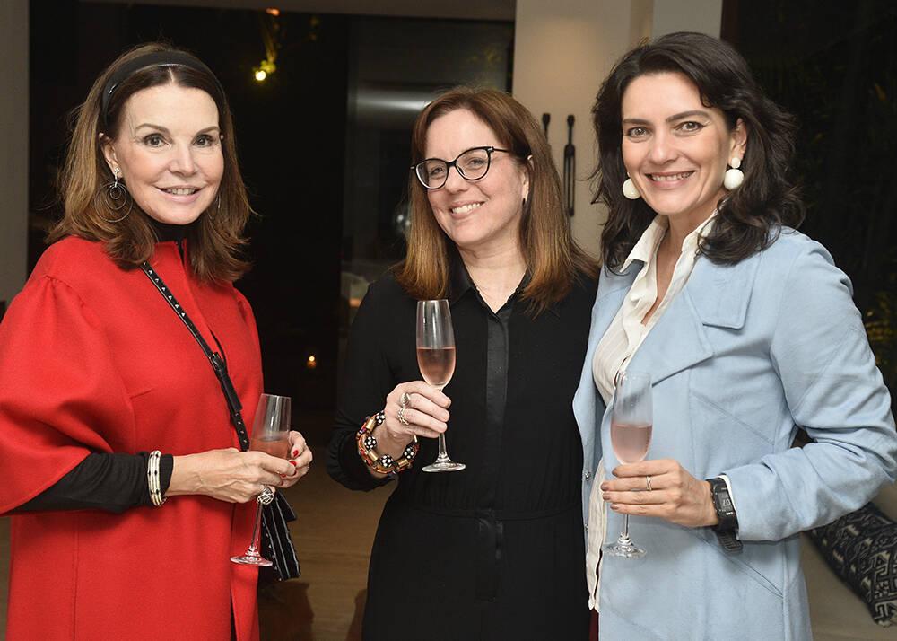 Patricia Mayer, Marcia Disitzer e Melissa Jannuzzi  /Foto: Divulgação