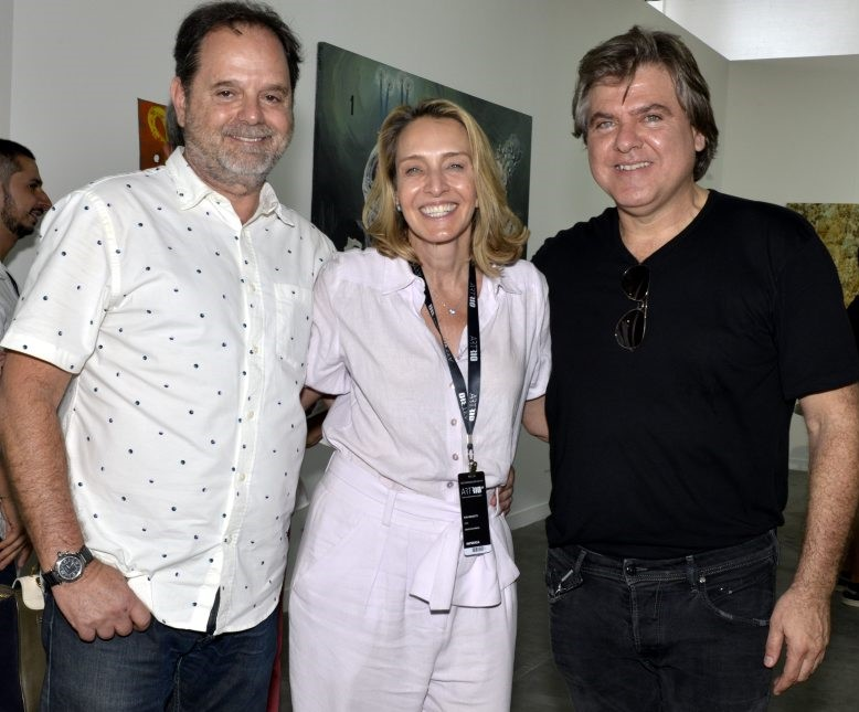 David Zylbersztajn, Kiki Moretti e Dudu Garcia /Foto: Cristina Granato