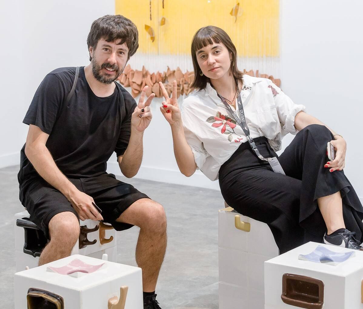Eduardo Navarro e Carolina Carreteiro /Foto:Bruno Ryfer, Miguel Sá e Túlio Thomé