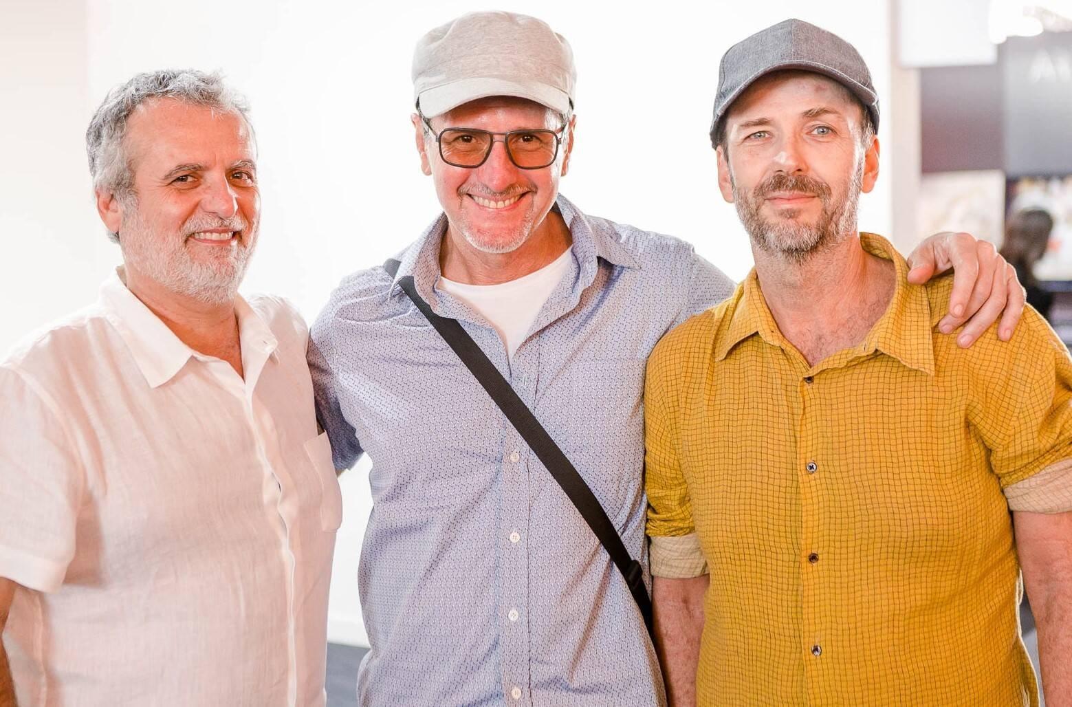 Pedro Buarque, Marcus Wagner e Nuno Bock /Foto: Bruno Ryfer, Miguel Sá e Túlio Thomé